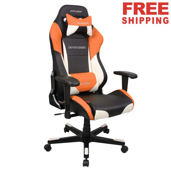 DXRacer fice Chairs DF61 NWO PC Game Chair Racing Seats