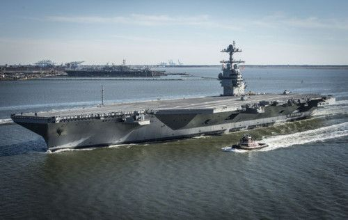 The USS Gerald Ford Is the Most Advanced Aircraft Carrier in the...