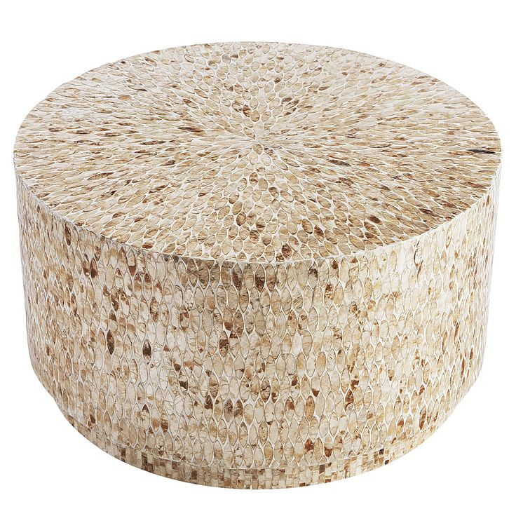 Round White Capiz Coffee Table: 25+ Best Ideas About Drum Coffee Table On Pinterest