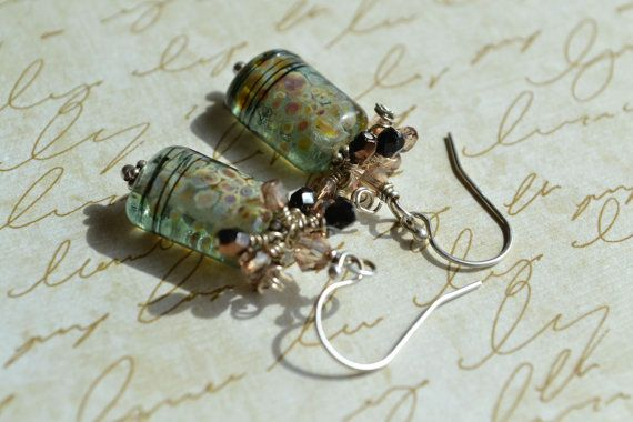 """""""https://www.etsy.com/listing/155976294/artisan-lampwork-earrings-cluster?ref=shop_home_active_5"""" (quote)"""