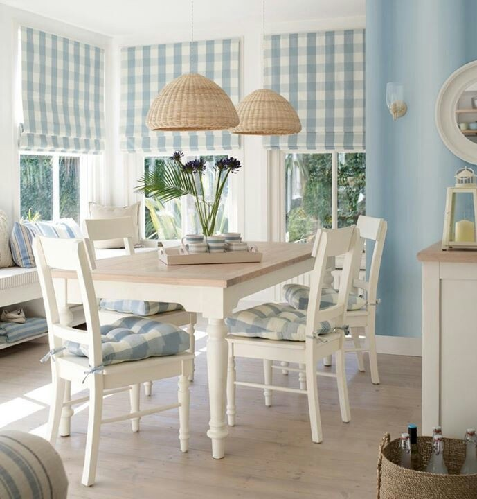 Seaspray blue and pale natural white