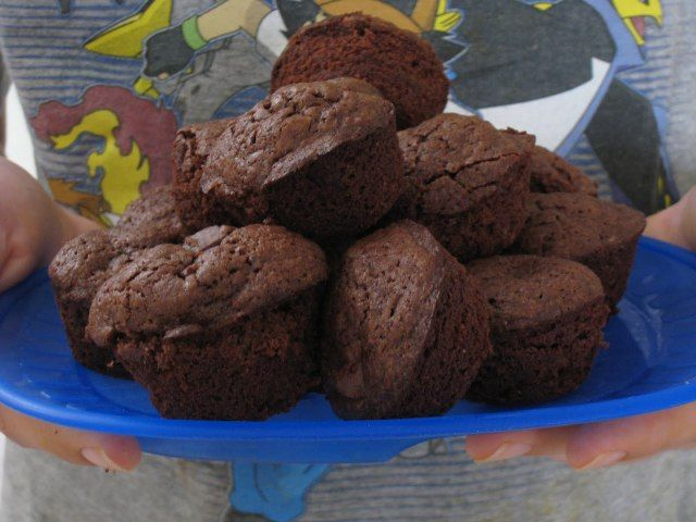 Cocoa Brownies | Life as MOM - so good and easy. no boxed mix.