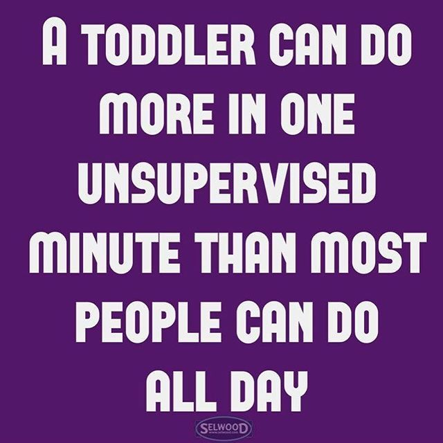 A toddler can do more.... #Unsupervised #Toddler #Nightmare