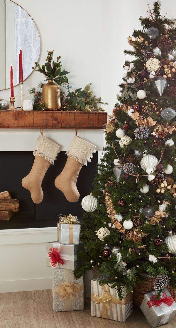 7 Pro Tips For Decorating Your Christmas Tree Overstock Com Red Christmas Decor Silver Christmas Decorations Woodland Christmas Theme