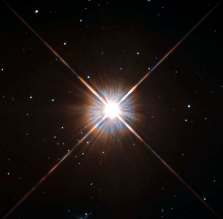 Photograph from Hubble