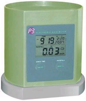 Rain Gauge Rain Gauge by WMU. $42.00. This product may be prohibited inbound shipment to your destination.. Please refer to SKU# PRA25308114 when you inquire.. Brand Name: WMU Mfg#: 1166854. Shipping Weight: 1.00 lbs. Residents of CA, DC, MA, MD, NJ, NY - STUN GUNS, AMMO/MAGAZINES, AIR/BB GUNS and RIFLES are prohibited shipping to your state. Also note that picture may wrongfully represent. Please read title and description thoroughly.. - P3 International digital rai...