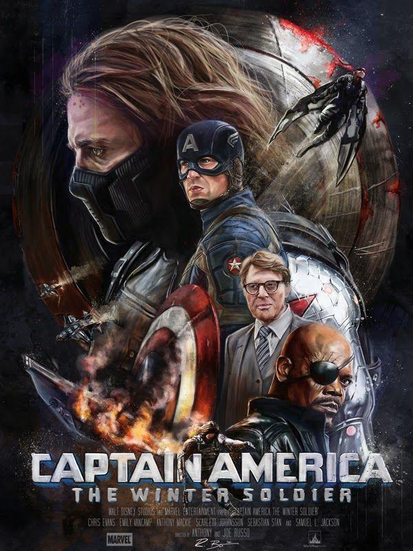 TuszKaBLOG: Amerika Kapitány - A tél katonája (Captain America...
