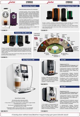 Luxus konyhák a Fabulitól: Jura luxus kávégépek a Fabuli Stylenál konyhagép a...