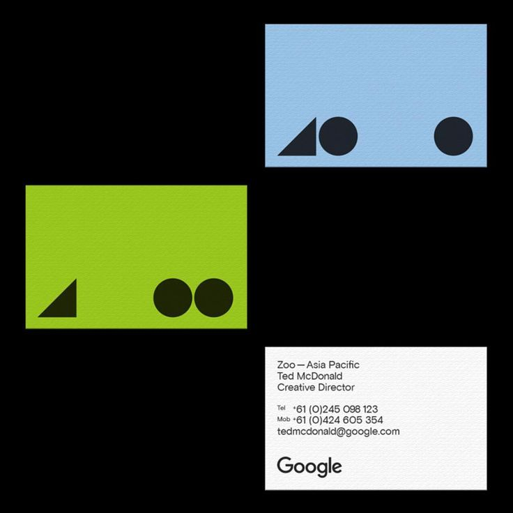 "87 Likes, 4 Comments - MAUD (@maud_design) on Instagram: ""Google Zoo — business cards"""