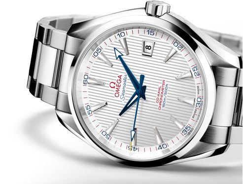 OMEGA Watches: Seamaster Aqua Terra Captain's Watch