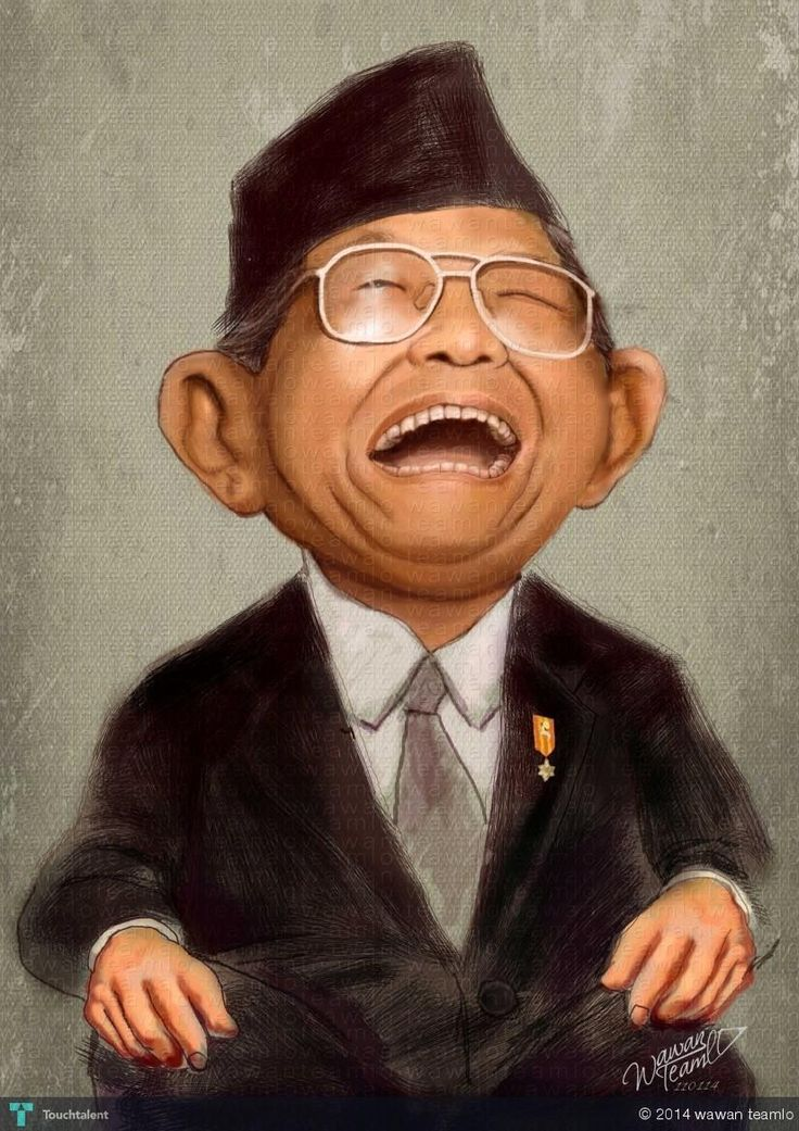 GUS DUR -  Indonesia President 4th #Creative #Art #DigitalArt @Touchtalent.com