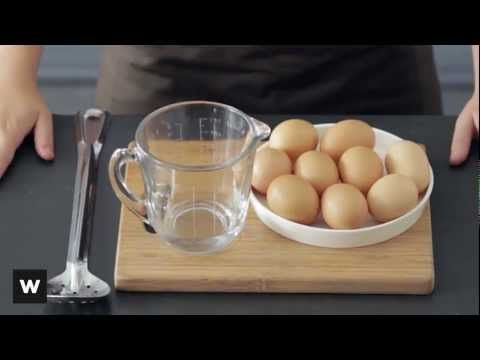 Learn how to poach eggs at home with our easy how-to video. Go to www.woolworths.co.za/thepantry for more.