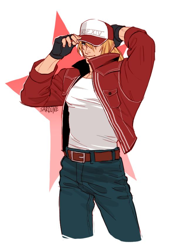 Terry Bogard KOF 14 King of fighters XIV