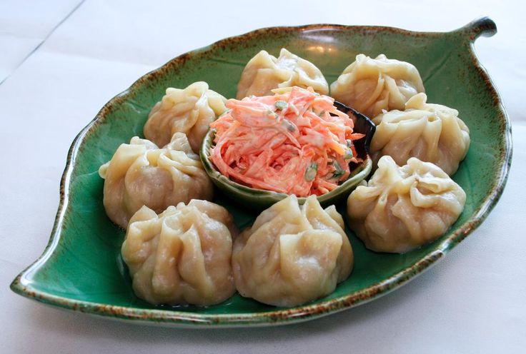Buuz- mongolian dumplings