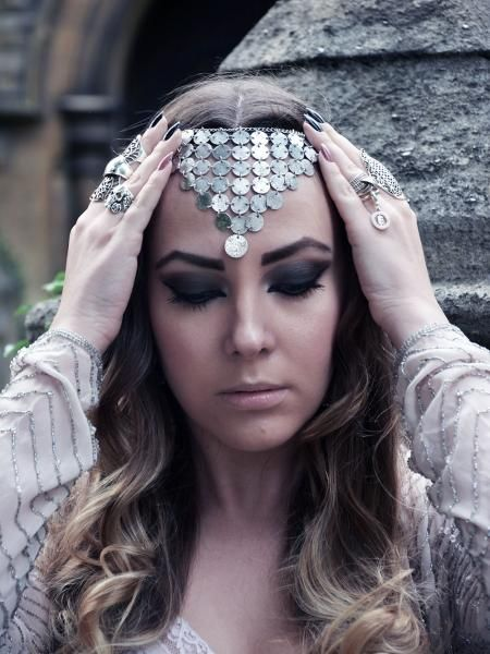 Coin headpiece | Look What I'm Wearing