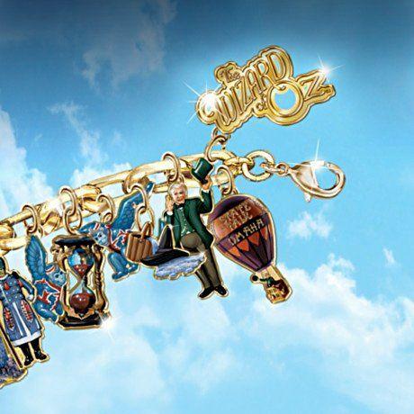 Wizard Of Oz Ultimate Charm Bracelet - detail