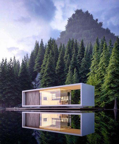 An Organic Modern Home With Subtle Industrial Undertones: Stavanger House #Norway By @alex_nerovnya