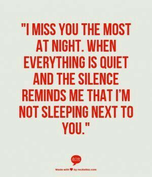 Happens every night, especially when I can't even text you.