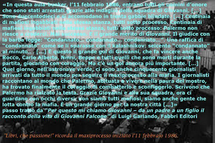 """""""Per questo mi chiamo Giovanni - da un padre a un figlio il racconto della vita di Giovanni Falcone"""" di Luigi Garlando"""