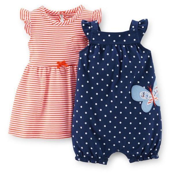 США покупке детской одежды 2015 весной и летом новорожденного женщина комбинезон сокровище платье костюм Картера Картер