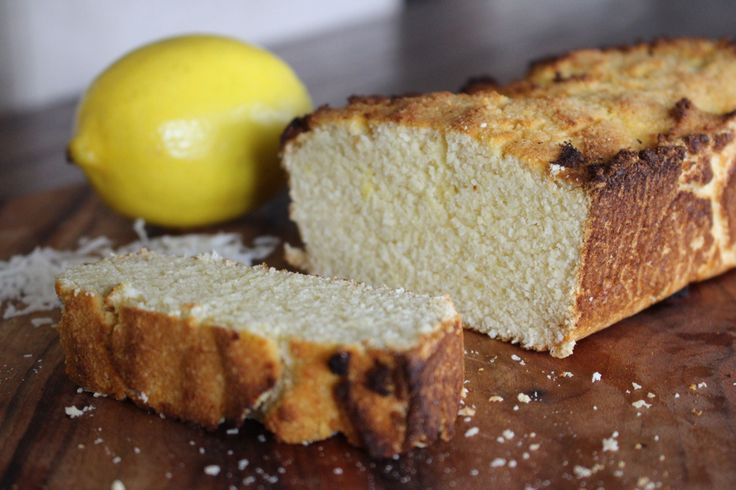 Coconut & Lemon Bread  #RealFoodPledge