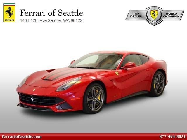 Certified Used 2015 Ferrari F12berlinetta Coupe In Seattle