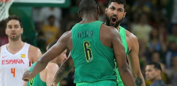 Brasil derrota Espanha em caldeirão que enlouqueceu até Gasol - 09/08/2016 - UOL Olimpíadas