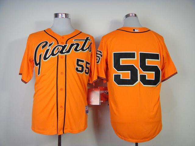 f034c6977 ... clearance christmas day cheap wholesale mens 2014 san francisco giants  tim lincecum alternate orange cool base