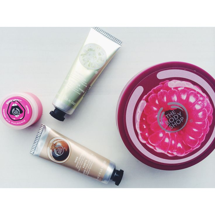 Winter Essentials #thebodyshop