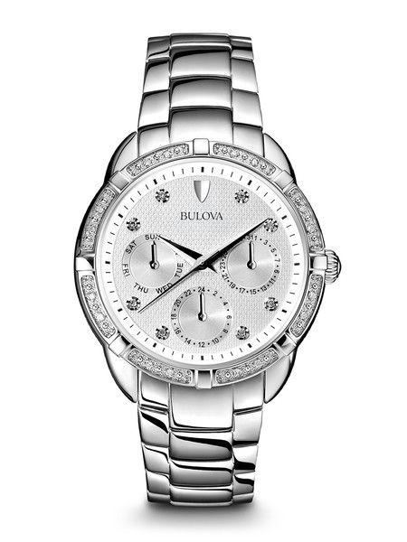 Bulova 96R195 Women's Diamond Watch | Bulova