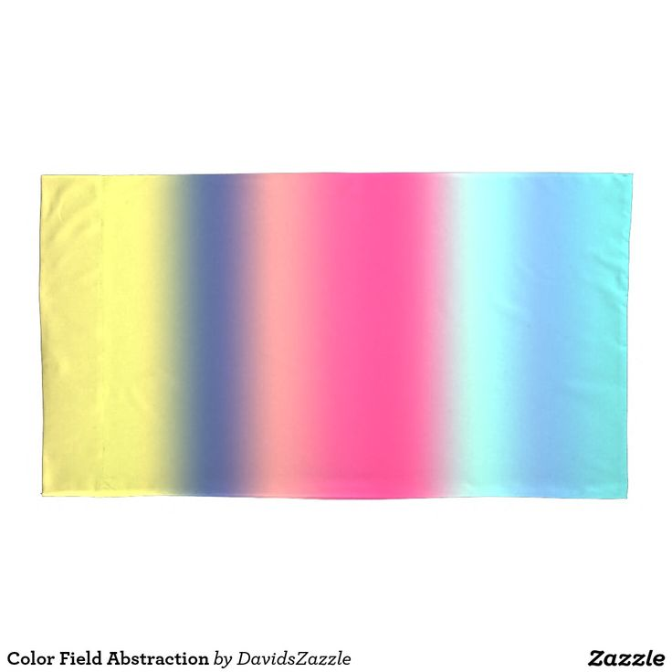 Color Field Abstraction Pillow Case  Also available in standard sizing!  Be sure to check out other products on my store site that will accompany your shower curtain and/or duvet!  #home #decor #shower #duvet #curtain #cover #bed #bath #red #yellow #blue #teal #orange #pink #abstract #line #stripe #abstraction #contemporary #art #modern #chic #style #cool #hip #sweet #neat #style #life #lifestyle #buy #sale #zazzle #pillow #case