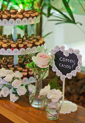 Inspirações para a festa de casamento: docinhos de Santo Antônio