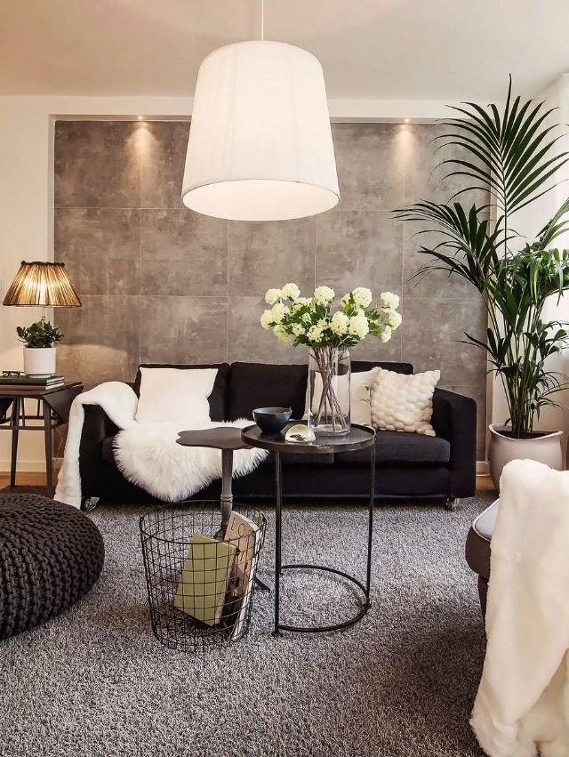 I AM TOTALLY IN LOVE WITH THIS ROOM, ESPECIALLY THE WALL TREATMENT BEHIND  THE LOUNGE Part 45
