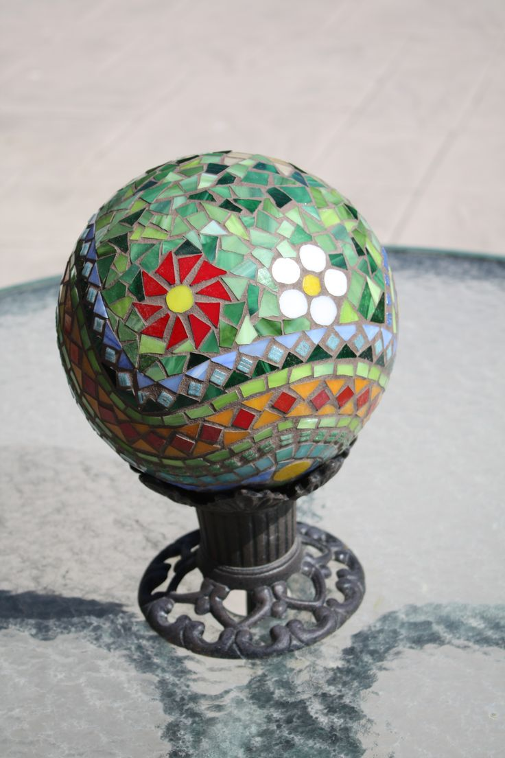 44 best garden art globes images on pinterest garden balls