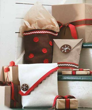 Gooseberry Patch Blog - Craft these Felt Gift Bags