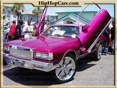 Candy paint lipstick pink Chevy car !!!