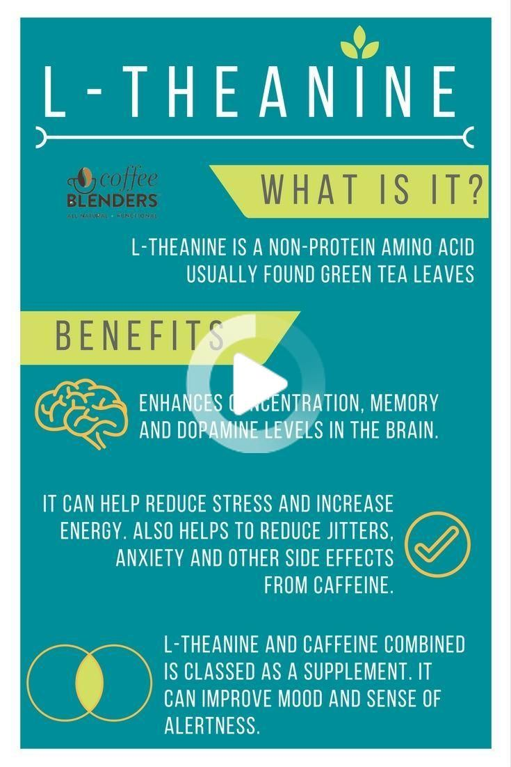 Ltheanine has so many benefits especially when combined