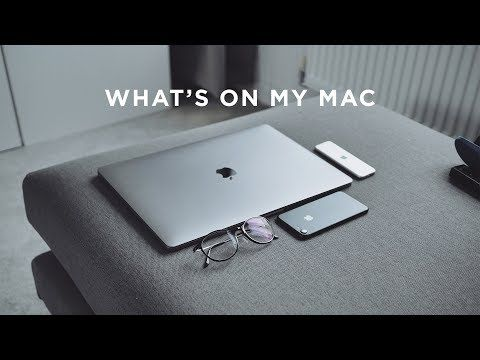 What's On My Mac Productivity Apps YouTube