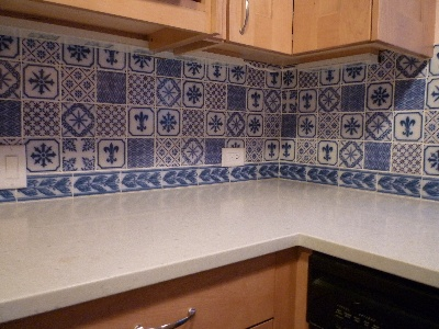 32 best Blue and white tile images on Pinterest Tiles White