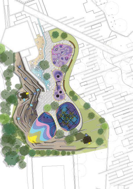 Zorlu-center_Plandrawing-CARVE « Landscape Architecture Works | Landezine