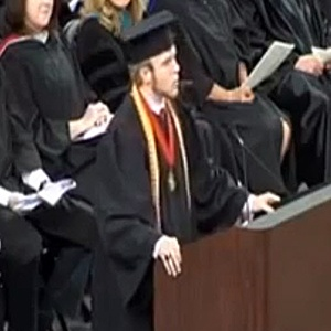 Roy Costner IV wrote a speech for his graduation, submitted it to the school for approval and was prepared to read it to the crowd on Saturday afternoon. But the South Carolina valedictorian stunned everyone when he tore up his prepared words and recited the Lords Prayer instead.WE SHOULD ALL TAKE A STAND FOR THE LORD LIKE ROY!!!!