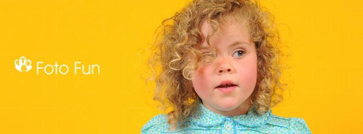 Little curly hair beauty in bright colours, Emma
