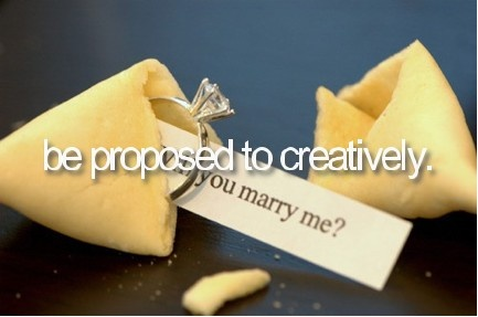 be proposed to creativelyDreams, Marriage Propos, Cute Ideas, Diamonds Rings, Future Husband, Propos Ideas, Fortune Cookies, Engagement Rings, Proposals Ideas