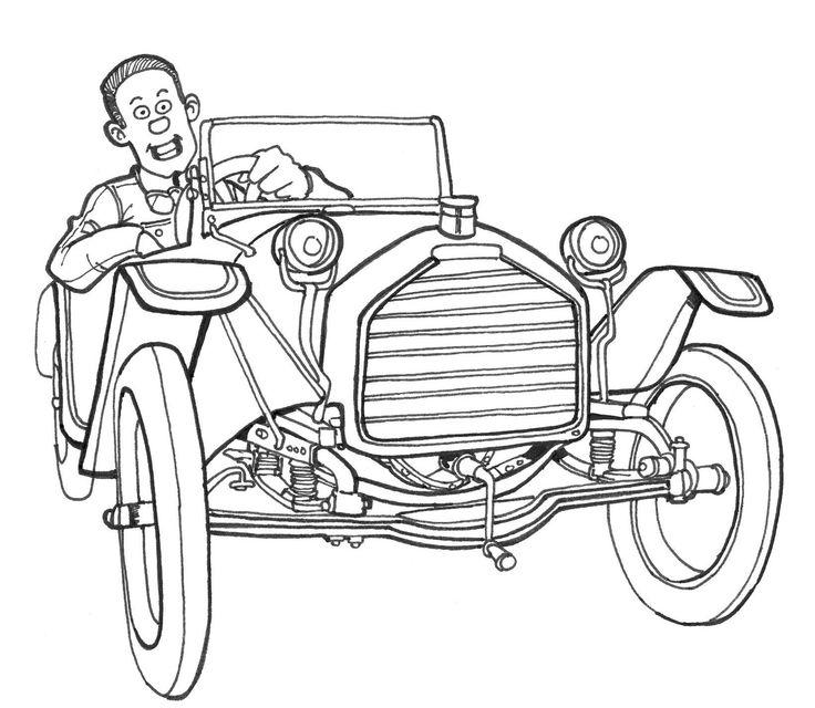 Karl Areuschle dans la série BISHOT - illustration david voileaux copyright