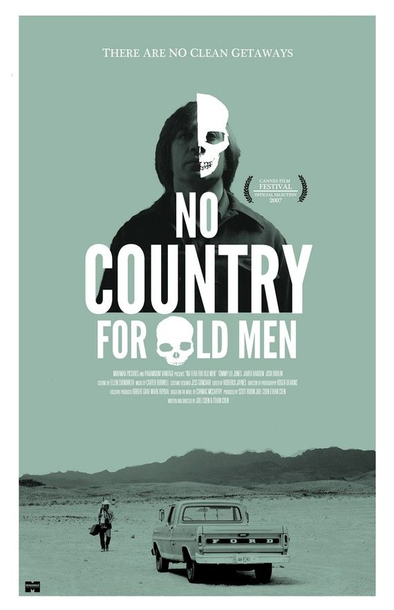 No Country for Old Men not only has the right characters and especially the right villain, the delivery happens so subtle that it sucks you in from the very first second.