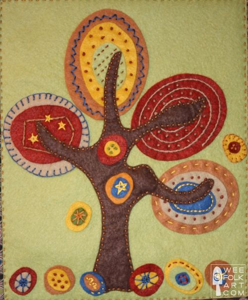 Lots of free applique patterns