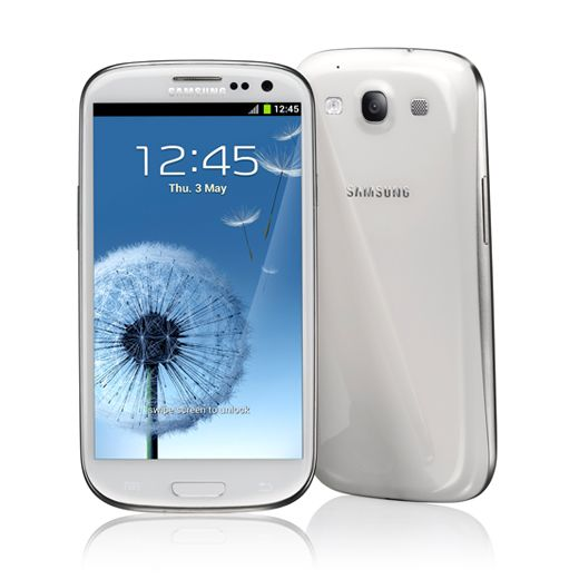 Samsung Galaxy S III - I'm more of an iPhone guy but this is sexy.