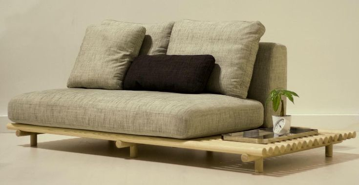 zen furniture | Cool Zen Style Seating design, the RAFT Sofa by Outofstock