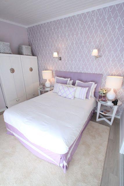 Lavender Bedroom || Ana Antunes