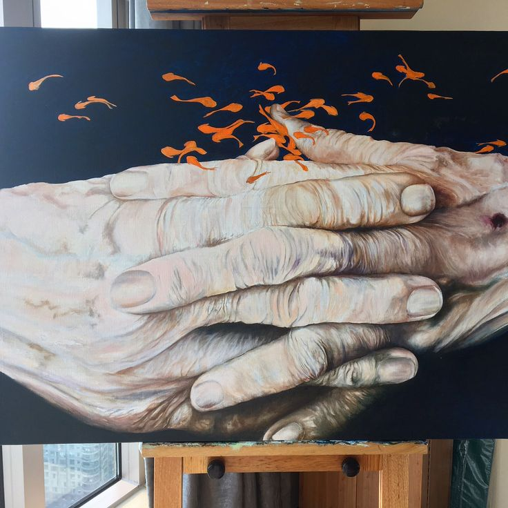 My fathers hands - life interrupted
